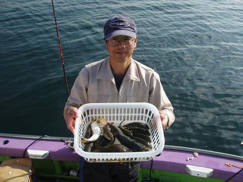 2008.11.7(金) 2番手・13匹・志茂さん!