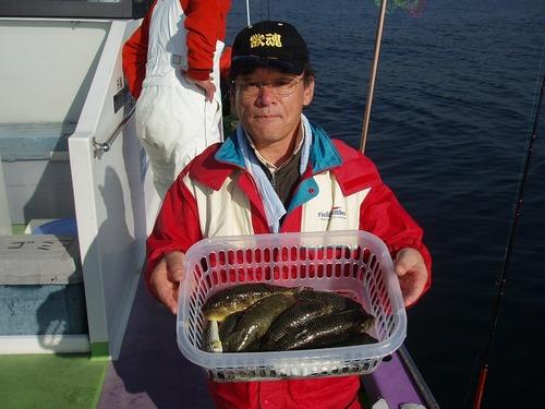 2008.11.7(金) 3番手・12匹・藤巻さん!