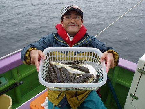 2008.11.8(土) 2番手・21匹・上村さん!