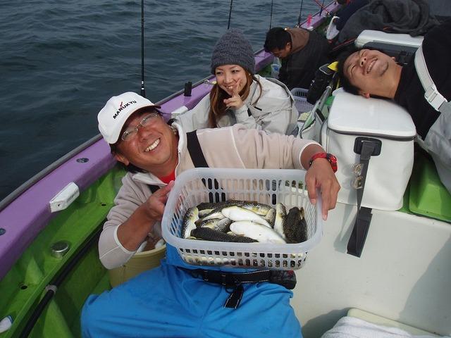 2009.11.8(日) 2番手・26匹・山本さん!