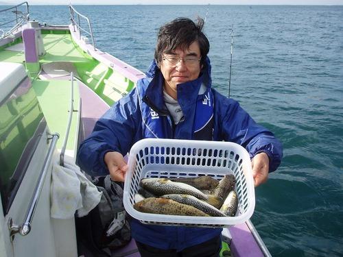 2008.11.13(木) 13匹釣った高田さん!