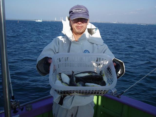 2009.11.26(木) 竿頭・18匹・志茂さん!