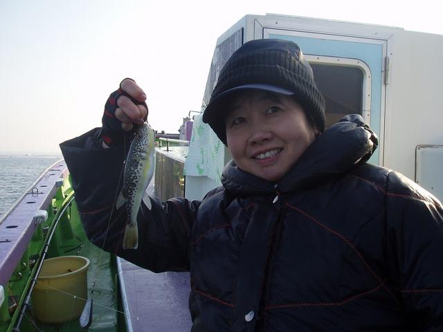 2009.11.27(金) 初挑戦で9匹・木下三枝子さん!