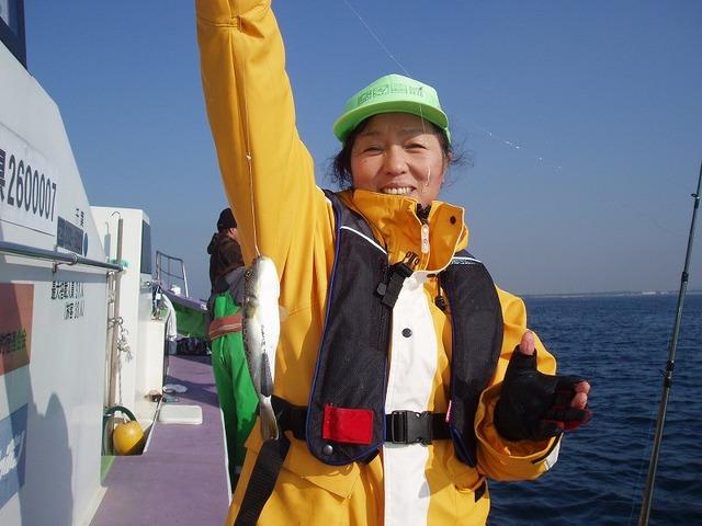 2009.12.2(水) 初挑戦で8匹・中山礼子さん!