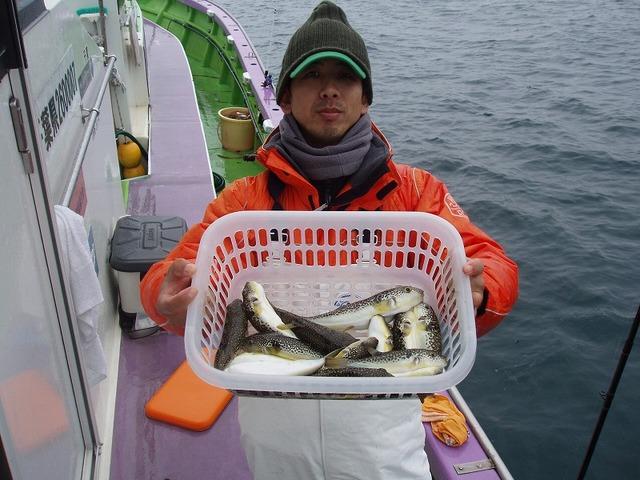 2009.12.5(土) 2番手・15匹・稲場さん!