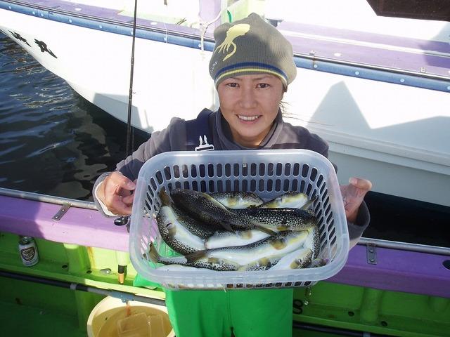 2008.12.21(日) 竿頭・18匹・忍姫!