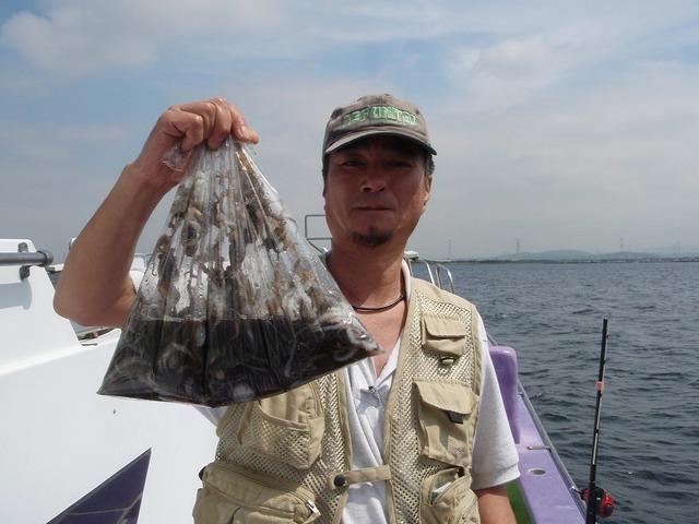 2009.9.7(月) 竿頭・77杯・竹内さん!