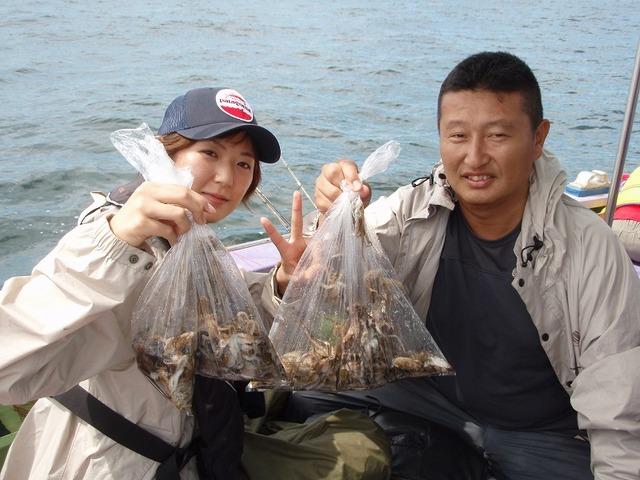 2009.9.13(日) 55杯の林さんと65杯の吉塚さん!
