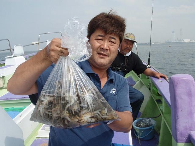 2009.9.28(月) 初挑戦で82杯・柳さん!
