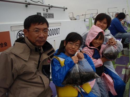 2008.10.11(土) 4人で53杯・本田さんファミリー!