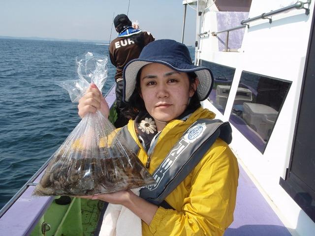 2009.10.15(木) 初挑戦で健闘の47杯・稲葉麻理さん!