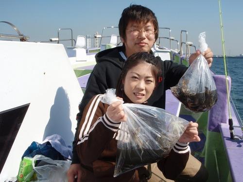 2008.10.16(木) カップルで楽しめるイイダコ釣り!
