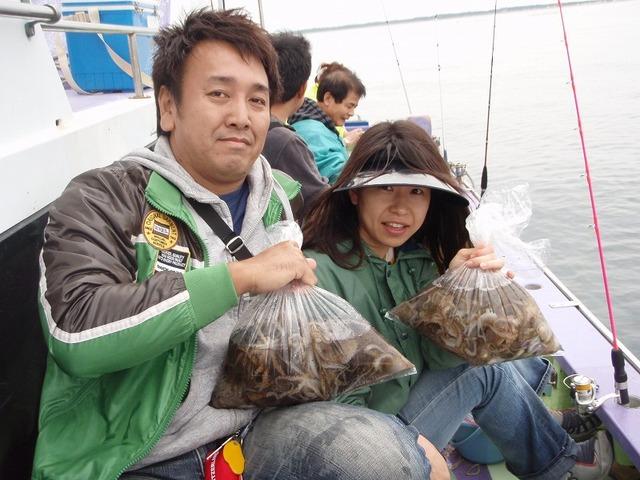 2009.10.17(土) 初挑戦で47杯づつ・小柳さんカップル!
