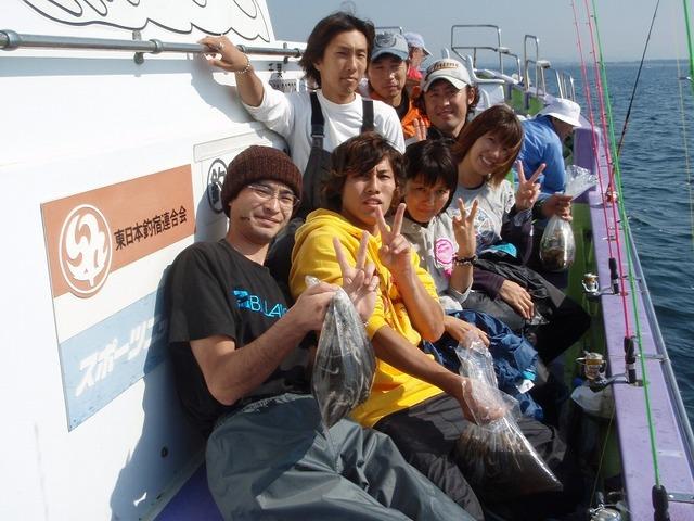 2009.10.18(日) グループで楽しいイイダコ釣り!