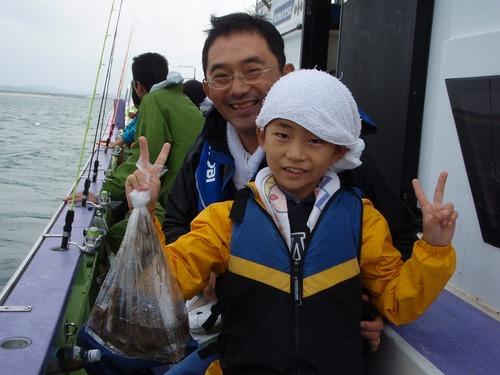 2008.10.19(日) 親子で楽しめるイイダコ釣り!
