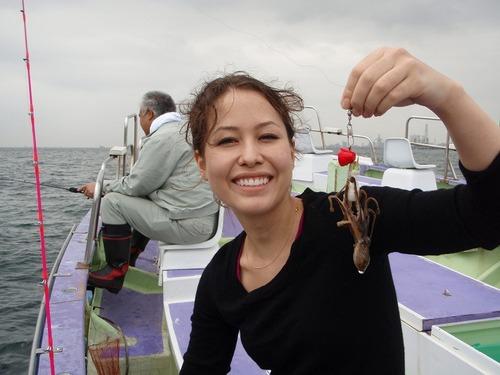 2008.10.25(土) 女性も手軽に楽しめるイイダコ釣り!