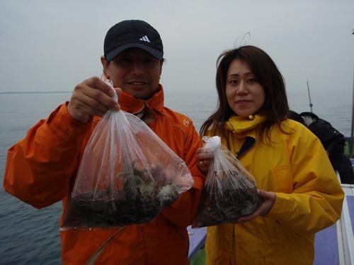 2008.11.3(月) 2人で47杯・及川さんご夫妻!