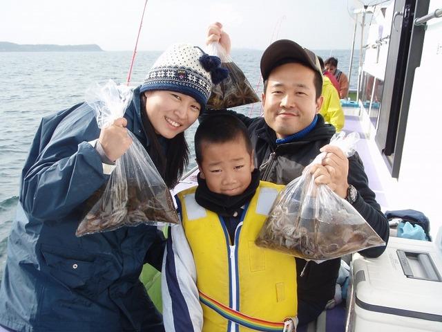 2009.11.8(日) 3名で90杯・中島さんファミリー!