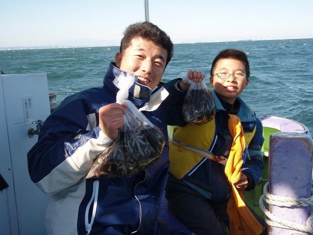 2009.11.15(日) 小泉冠斗くん24杯!・パパ38杯!