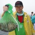 2008.6.8   15杯釣って竿頭の石井さん!