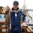 2008.6.8    超特大の3.5kgを釣った田中さん!