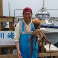 2008.6.14    初挑戦で超特大の3.6kgを釣った佐藤さん!