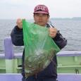 2008.6.25   12杯釣った山武市の山内さん!