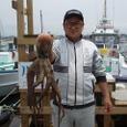 2008.7.1   3.0kgを釣った垣沼さん!