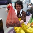 2008.7.2    10杯釣って竿頭の里井さん!