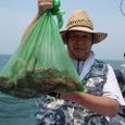 2008.7.6   7杯釣った水野谷さん!