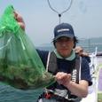2008.7.6   8杯釣った高橋さん!