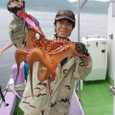 2008.7.7   2.3kgを釣った太田さん!