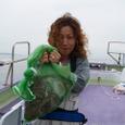 2008.7.9   8杯釣った浜野香織さん!