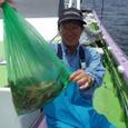2008.7.11  7杯を釣った斉藤さん!