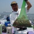 2008.7.13   10杯釣って総重量が9kg有った坂下さん!