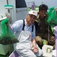 2008.7.14   初挑戦の小寺さんと近藤さん!