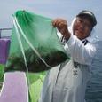 2008.7.14   9杯釣って竿頭の関谷さん!