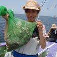 2008.8.12   2.1kgを含む4杯・浜野香織さん!