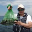 2009.8.12(水) 4杯で4.3kg・石井さん!