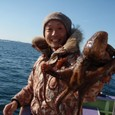 2008.11.23(日) 2.0kgを釣った熊田さん!