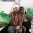 2008.11.24(月) 2日連続乗船の熊田さんと初挑戦の山本さん!