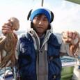 2008.11.29(土) 1.9kgと0.9kgを釣った田辺さん!