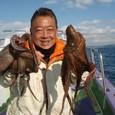2008.11.29(土) 1kgオーバーを2杯釣った中島さん!