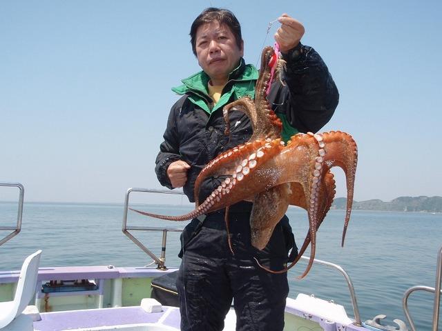 2009.4.29(水) 特大の3.4kg・大浦さん!