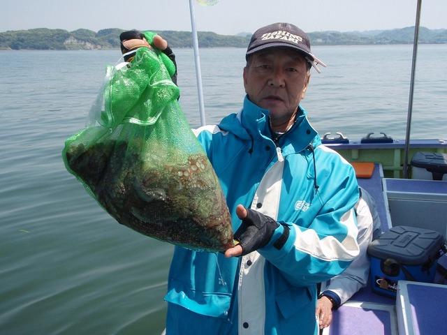2009.4.29(水) トップ・6杯・内山さん!