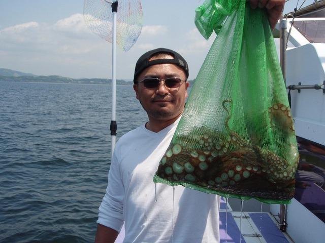2009.5.9(土) 初挑戦で2.0kgを含む3杯・田村さん!