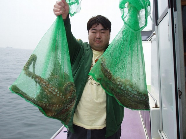 2009.5.11(月) トップ4杯・総重量7.9kg・大原さん!