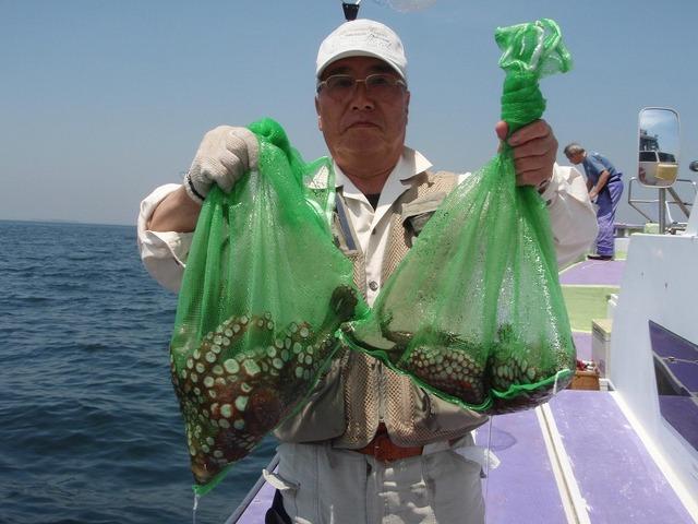 2009.5.20(水) 特大の3.1kg含む5杯・市川さん!