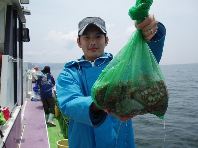 2009.5.27(水) 初挑戦で9杯・中村さん!