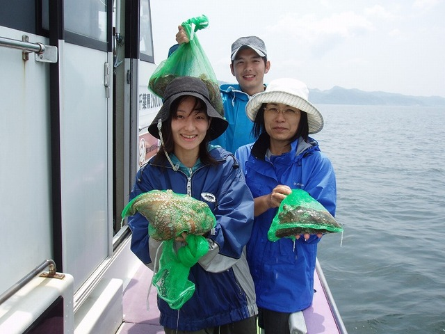 2009.5.27(水) 初挑戦の3名で14杯の大漁!